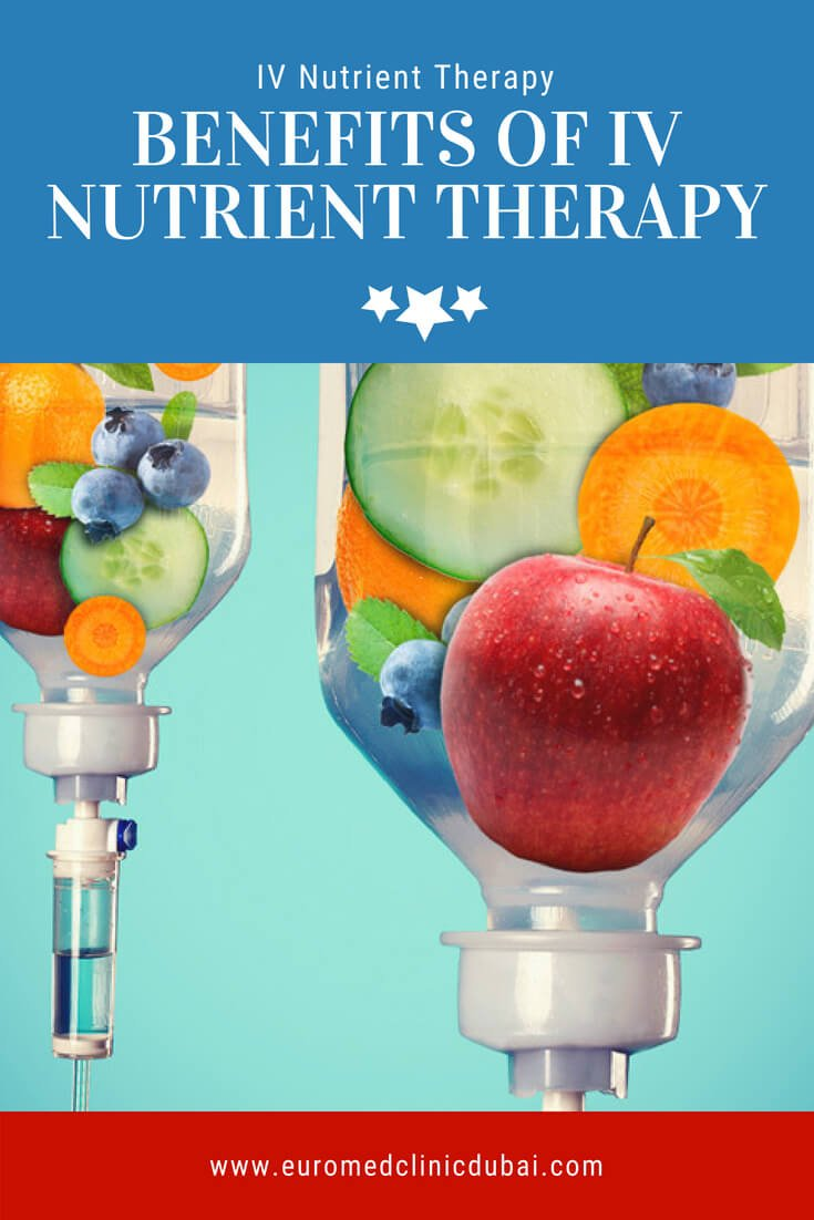 Benefits of IV nutrient therapy