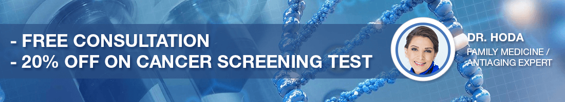 Free Consultation – 20% off Cancer Screening Test