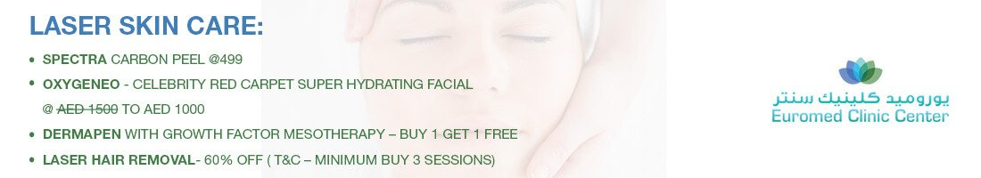 Laser Skin Care Treatments Offers (Buy 3 Get 1 Free)