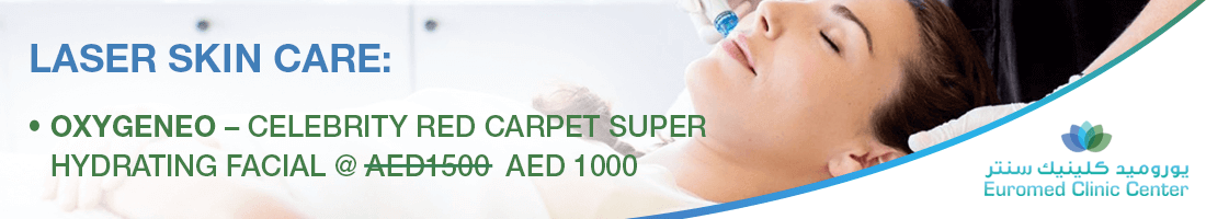 Oxygeneo – Celebrity Red Carpet Super Hydrating Facial @  AED 1000