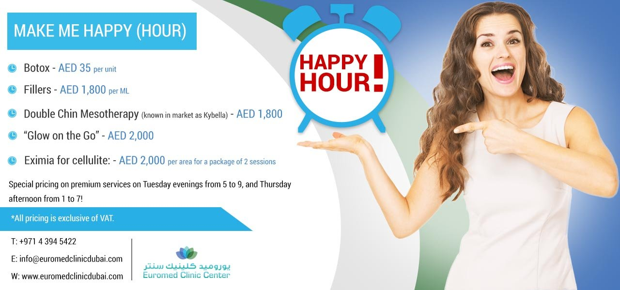 Special Offers at Special Hours of The Week